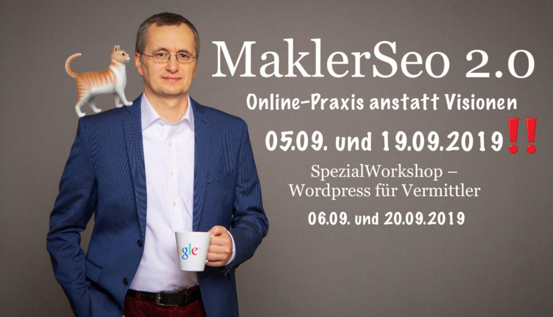 Maklerseo - Online Regionale Kunden gewinnen